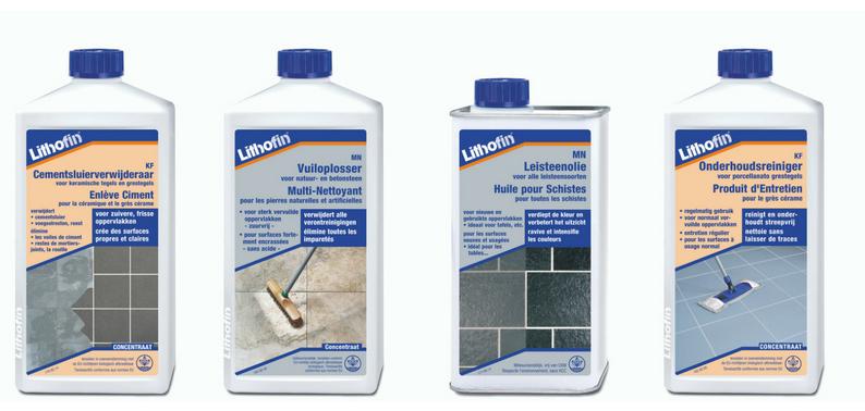 Lithofin onderhoudsprodukten