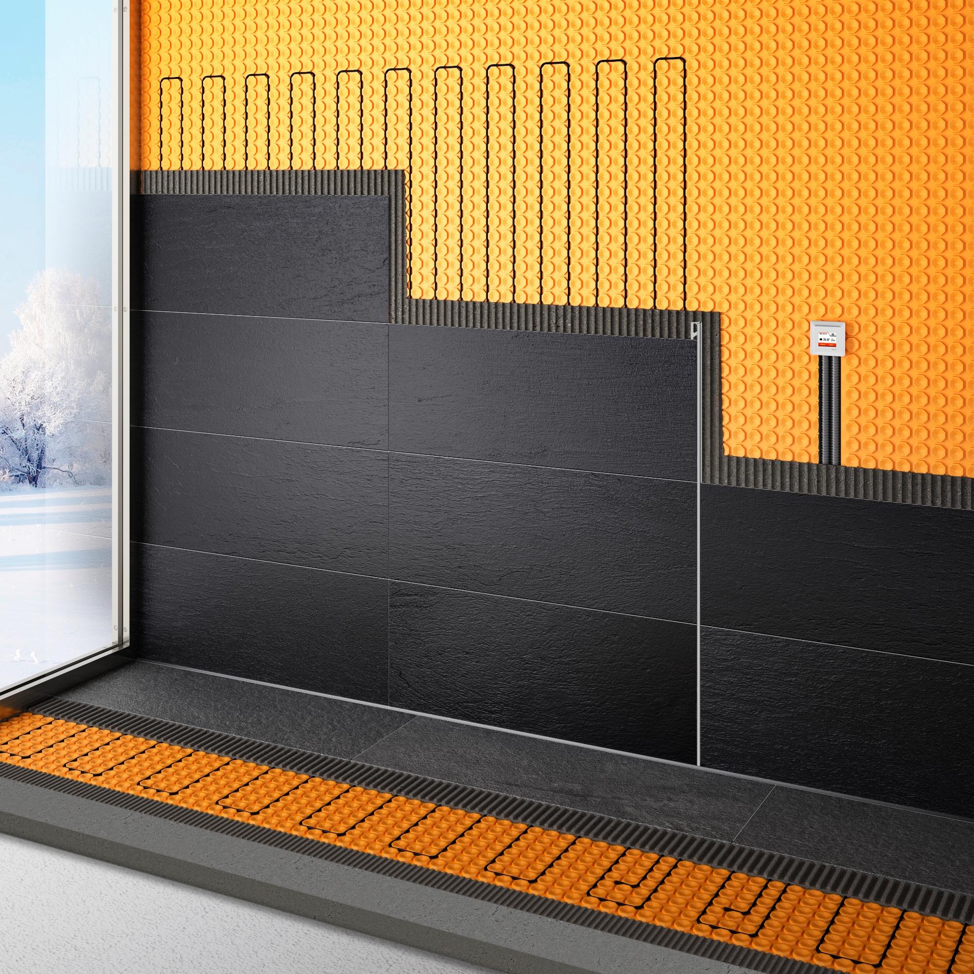Vloer- en muurverwarming