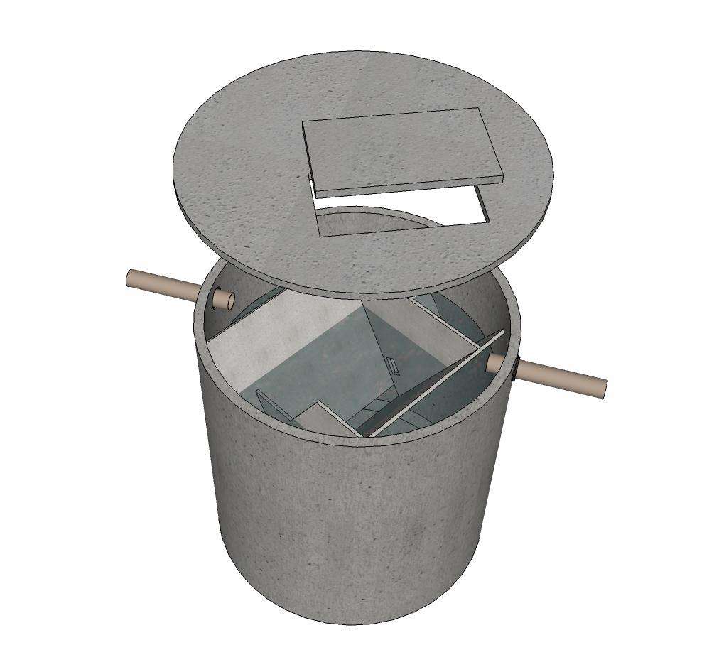 Septische put beton