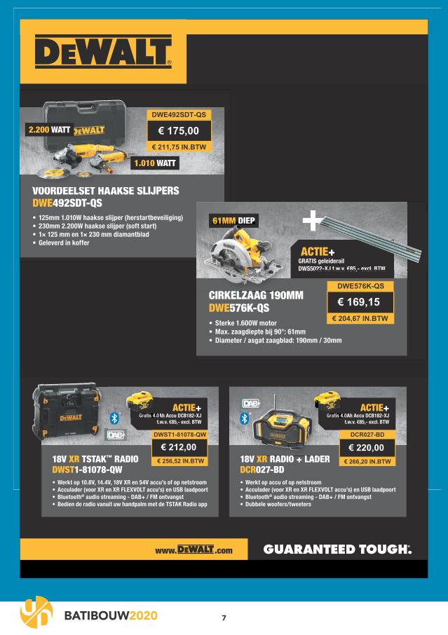 special deals batibouw 2020 7