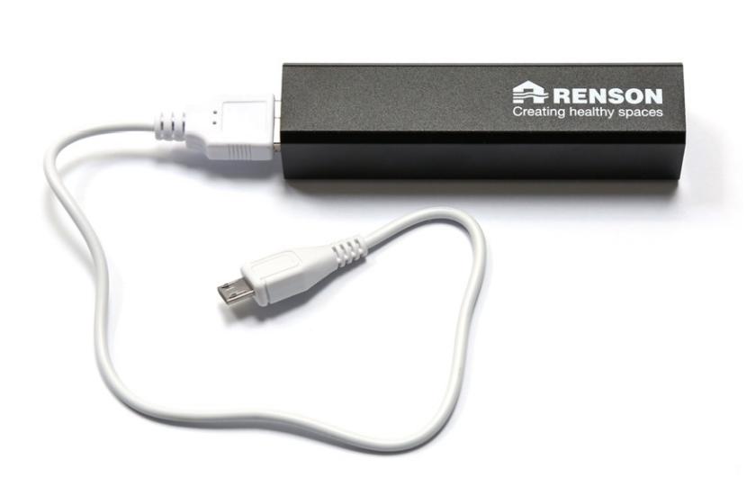 batterij Renson co2-monitor